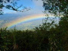 Rainbow at Breakfast Vista Valverde B&B